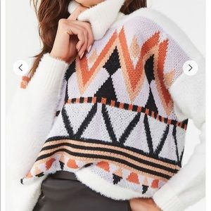 Forever 21 Geo Print Sweater